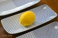 【白山陶器】【波佐見焼】【重ね縞・長焼皿】25×11cm 350g