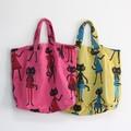 【3色展開】《MEME ガーゼバッグ》ガーゼ素材の大きなバッグ♪
