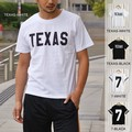 ビックロゴ 半袖 Tシャツ TEXAS WISCONSIN BIG LOGO