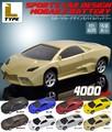 <スマホバッテリー>カラフル8色♪ リアルな車型モバイルバッテリー4000mAh(Lタイプ)