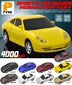 <スマホバッテリー>カラフル9色♪ リアルな車型モバイルバッテリー4000mAh(Pタイプ)