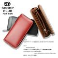 ☆3点セットがお得☆★SC-303★ScoopClub スクープクラブ スムースラウンド 長財布