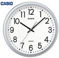 時刻が見やすいスタンダート壁掛け時計♪<掛時計・景品・ノベルティ・モノトーン・インテリア>
