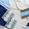 【5色展開】《バラとフリル UV手袋&UVアームカバー》夏の紫外線対策に♪