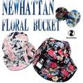 NEWHATTAN FLORAL BUCKET HAT  13655