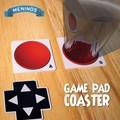 【アントレックス】懐かしいゲームボタンのコースター!【ゲームパッドコースター3pcs】