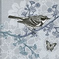 Paper+Design ペーパーナプキン 小鳥×フラワー