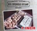 男の遊び心をコチョコチョくすぐってくれるステンシルスタンプ【US STENCILS STAMP 1インチ】