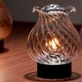 【オイルランプ】NEW クラシックシェード(花口) オイルランプ<2種>