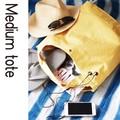 【値下げしました】【キャンバスバッグ】日常使いに最適★A4が余裕で入るキャンバストートバッグ★