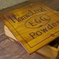 【木製品】エッグパウダーボックス