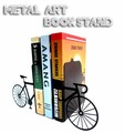 【BOOK STAND】メタルアートブックスタンド【6種類展開♪】