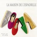 ☆今季注目!☆【LA MAISON DE L'ESPADRILLE 【ラ メゾン ドゥ エスパドリーユ】#324