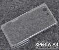 <オリジナル商品製作用>Xperia A4 SO-04G(エクスぺリア エース)用ハードクリアケース