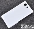 <オリジナル商品製作用>Xperia A4 SO-04G(エクスぺリア エース)用ハードホワイトケース