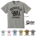 "【DEEDOPE】  ""BROOKSVILLE UNIVERSITY"" 半袖 プリント Tシャツ 綿100% カットソー"