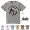 "【DEEDOPE】  ""ROYAL CROSS UNIVERSITY"" 半袖 プリント Tシャツ 綿100% カットソー"