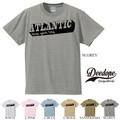 "【DEEDOPE】  ""ATLANTIC NEW YORK CITY"" 半袖 プリント Tシャツ 綿100% カットソー"