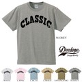 "【DEEDOPE】  ""CLASSIC"" 半袖 プリント Tシャツ 綿100% カットソー"