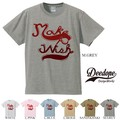 """【DEEDOPE】  """"MAKE A WISH"""" 半袖 プリント Tシャツ 綿100% カットソー"""