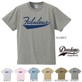 "【DEEDOPE】  ""FOBULOUS"" 半袖 プリント Tシャツ 綿100% カットソー"