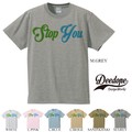 """【DEEDOPE】  """"STOP YOU """" 半袖 プリント Tシャツ 綿100% カットソー"""
