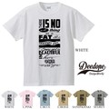 "【DEEDOPE】  ""THERE IS NO THING "" 半袖 プリント Tシャツ 綿100% カットソー"