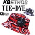 KB ETHOS Tie-Dye BUCKET HAT 13379