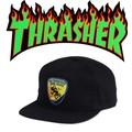 THRASHER BOMB SQUAD SNAPBACK  13671