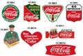 COCA COLA DRINK STICKERS