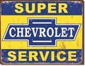 ブリキ看板 Super Chevy #58290