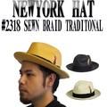 NEWYORK HAT #2318 SEWN BRAID TRADITIONAL  13679