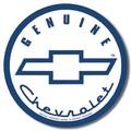 ブリキ看板 Chevy Button #58296