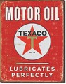 ブリキ看板 Texaco Oil Red #58302