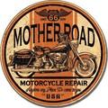 ブリキ看板 Mother Road #58309