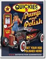 ブリキ看板 Pump & Polish #58313