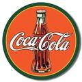 ブリキ看板 Coke 30's Bottle #58334