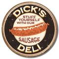 ブリキ看板 Dicks Deli #58338