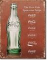 ブリキ看板 Coke Heritage #58484