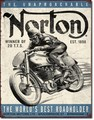 ブリキ看板 Norton Winter #58520