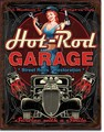 ブリキ看板 Hot Rod Garage Pistons #58524