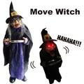 【ハロウィン】【アメ雑 雑貨】ムーブ ウィッチ 人形 魔女 インテリア ディズプレイ ホラー