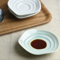 深山(miyama.) haas-ハース- しょうゆ小皿 緑青磁[日本製/美濃焼/洋食器]