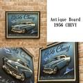 アンティークアイテム[ボード・1956 Chevy]<アメリカン雑貨>