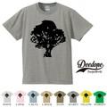 "【DEEDOPE】 ""TREE "" 半袖 プリント Tシャツ"