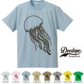 "【DEEDOPE】 ""JELLY "" 半袖 プリント Tシャツ"