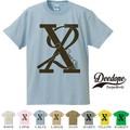 """【DEEDOPE】 """"X2 """" 半袖 プリント Tシャツ"""