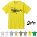 "【DEEDOPE】 ""EXPRESSION "" 半袖 プリント Tシャツ"