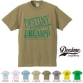 "【DEEDOPE】 ""DESTINY "" 半袖 プリント Tシャツ"