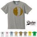 "【DEEDOPE】 ""LETTER O "" 半袖 プリント Tシャツ"